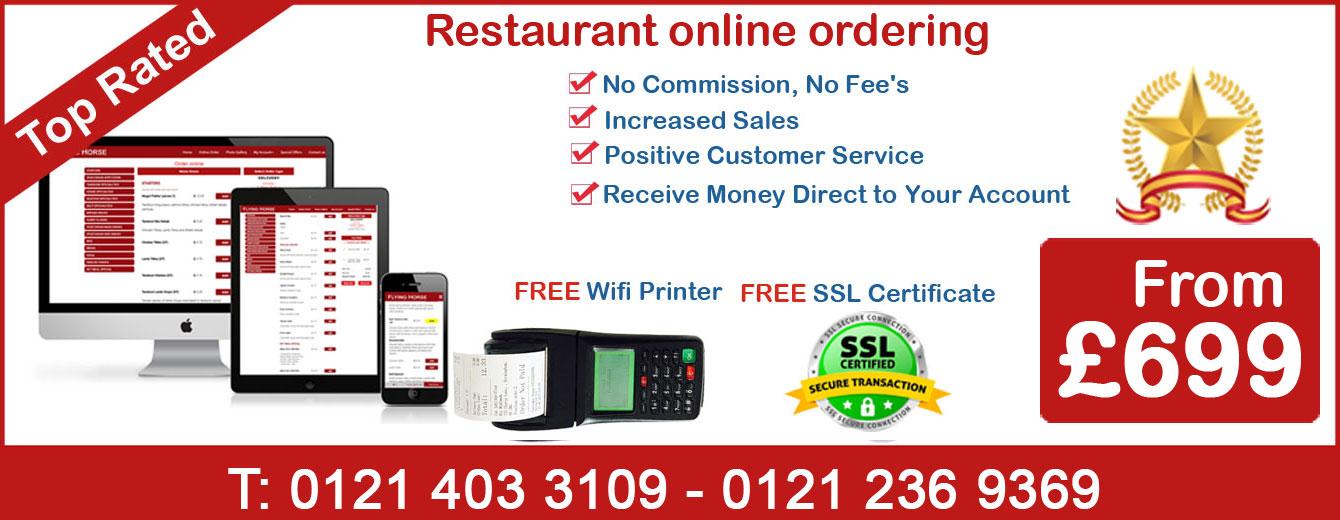 Restaurant Online Ordering System Birmingham