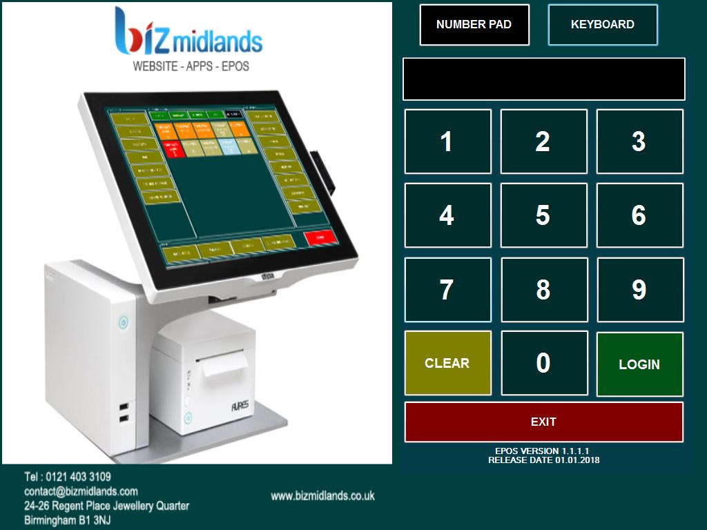 Biz Midlands EPOS System